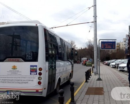 Пуснаха тестов автобус с нова система за електронно таксуване в Пловдив