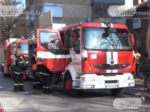 58-годишна жена е в болница след пожар в Пловдив