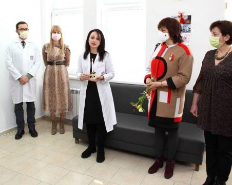 Първи практически курс проведоха в нов център на МУ-Пловдив