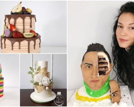 Топ сладкарка: Цветно измазаните торти без захарно покритие са хита на сезона