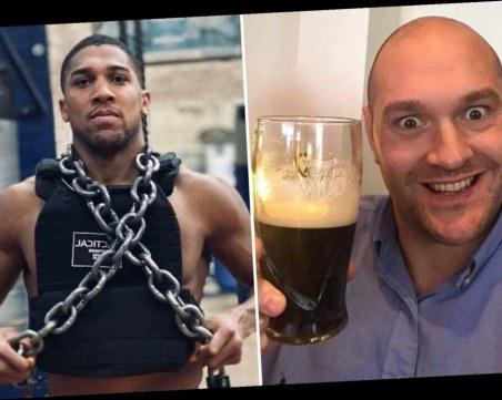 Фюри: Мога да изпия 14 бири и да победя Джошуа без да ме докосне