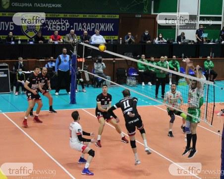 Отборът на Нефтохимик спечели Купата на България по волейбол при мъжете