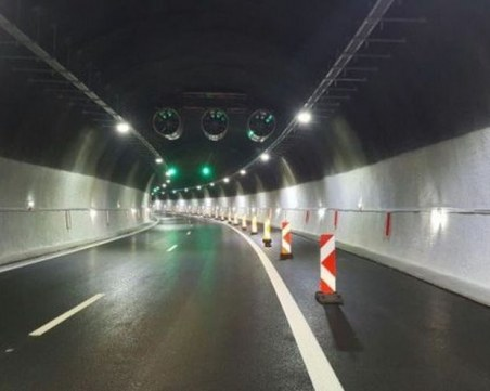 Авария в тунел на магистра