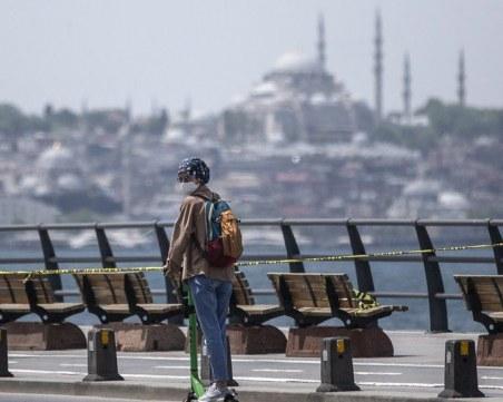 Турция с най-голям брой заразени от началото на годината