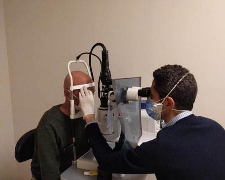 Спасиха 2% от зрението на Венци от Карлово! Нужни са му специални очила, за да може да се обслужва сам