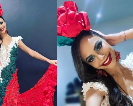 Пловдивчанка възхити света с рокля като