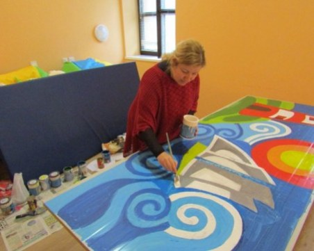 Починалата родилка в Бургас е известна художничка