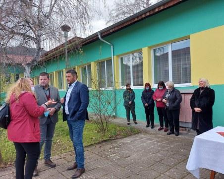 Децата на Устина се завръщат в напълно обновена детска градина