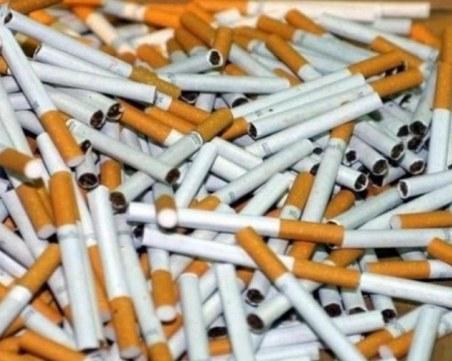 Спипаха контрабандни цигари за 5 млн. лева в Бургас
