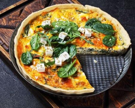 Рецепта за вкусна баница със сирене и спанак