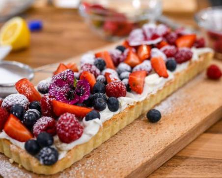 Тарт с горски плодове - готов за минути!