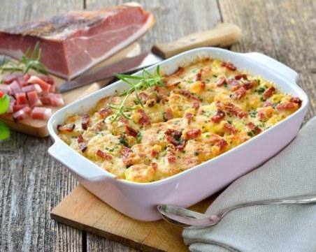 Рецепта на деня: Печени зеленчуци с прошуто