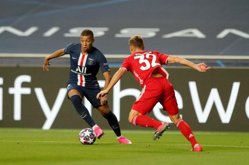 Първи епизод от битката между Байерн - ПСЖ в Шампионска лига