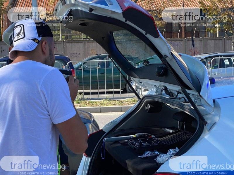 След проверки по пътищата в Пловдив и областта: Хванаха четирима нарушители