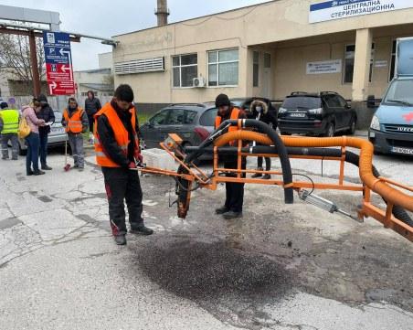 """Мащабни ремонти на улици в """"Западен"""