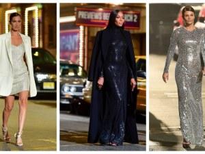 Бела Хадид, Наоми Кембъл, Хелена Кристенсен: Модната елитна разходка на Бродуей за Майкъл Корс
