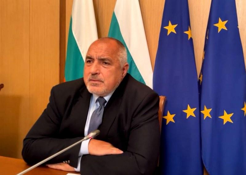 Борисов: Предлагаме Даниел Митов за премиер от ГЕРБ, Цвета Караянчева за шеф на парламента