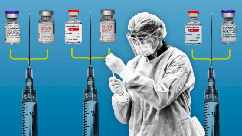 Научно изпитание тества имунния отговор при смесване на ваксини срещу Covid-19