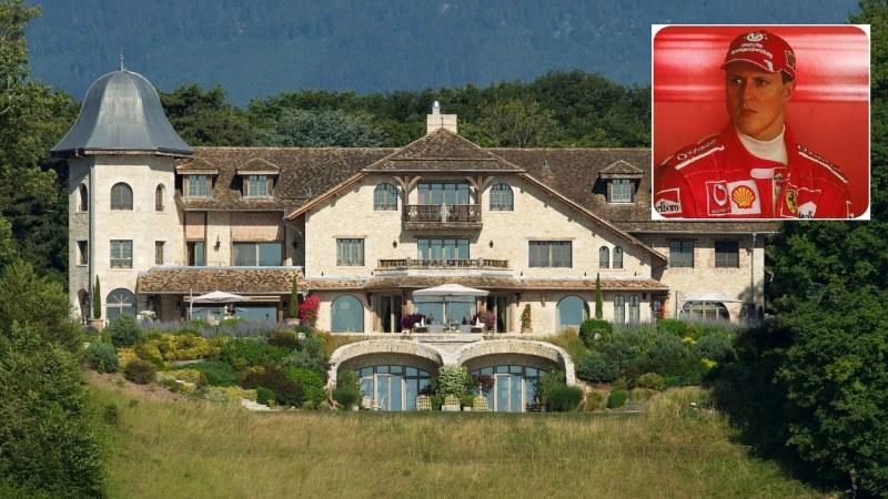 Продават имението, в което се смята, че се възстановява Михаел Шумахер