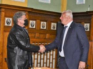 Световноизвестен тенор гостува на кмета Здравко Димитров
