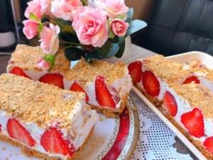 Великденска торта - лесна за приготвяне и без печене