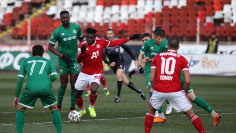 ЦСКА на финал за Купата на България след победа над Лудогорец като гост