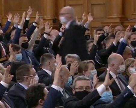 Отзвук от 45-ото Народно събрание:  Бърз ремонт на Изборния кодекс и нов вот през юли