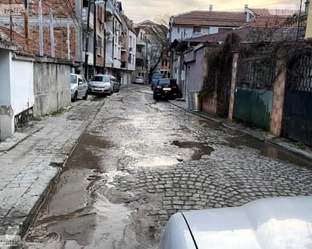 """ВиК започва подмяна на водопровода на ул. """"Волга"""