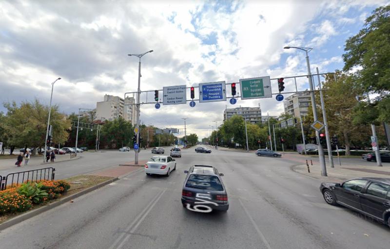 Без опашки по възлов булевард в Кършияка, облекчават левия завой към моста на УХТ