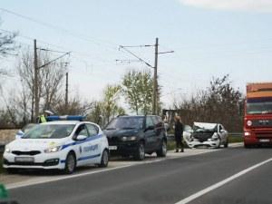 BMW и джип се удариха на Околовръстното на Пловдив