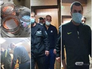 Дилърът Монката, пласирал амфети за близо 70 бона край Пловдив, влиза зад решетките