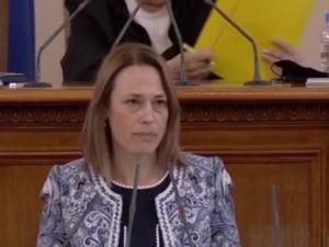 """Ива Митева от """"Има такъв народ"""" е новият председател на Народното събрание"""