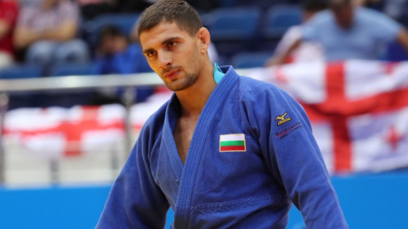 Втора победа за Ивайло Иванов на европейското по джудо