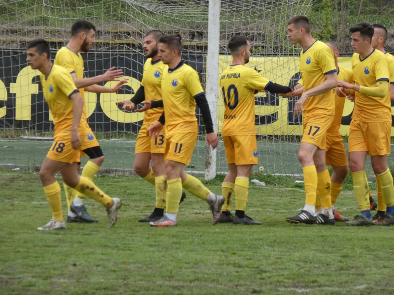 Марица продължава серията, справи се и с Димитровград
