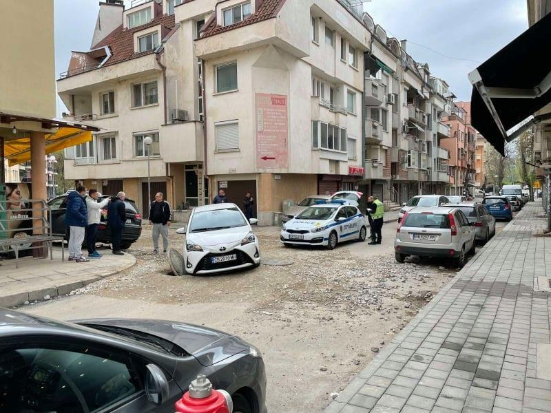 """Полицията: На ул. """"Луда Яна"""" има поставени знаци, водачът е в нарушение"""