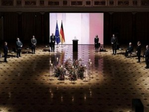 Германия почете паметта на жертвите на пандемията с възпоменателна церемония