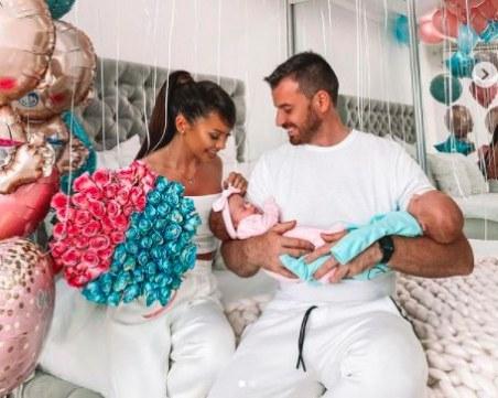 Популярна двойка от Пазарджик се радва на близнаци