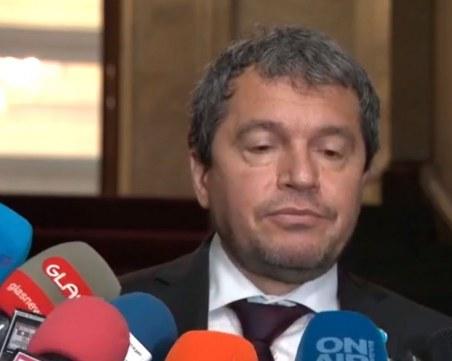 Тошко Йорданов: Правителство може да съставим само с партиите от протестите