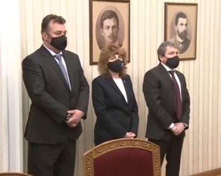 Започнаха консултациите между ИТН и президента, Тошко Йорданов хвали Радев за поведението му