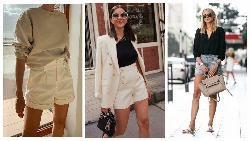 Тренд: Шорти през пролетта и как да ги носите?