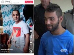 Отцеубиецът от Столипиново се вихри в ТикТок от пловдивския затвор