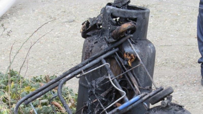 Взрив на газова бутилка вкара в болница жена от Смолян