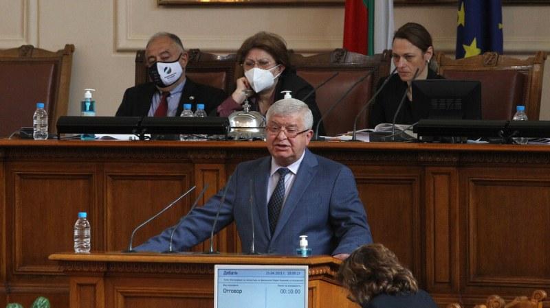 Ананиев пред депутатите: Фискалният резерв е 8,5млрд. лева, Бюджет 2021 върви по график