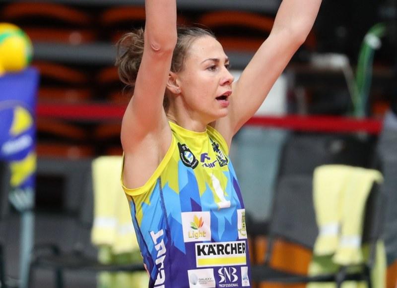Кремена Каменова слага край на състезателната си кариера
