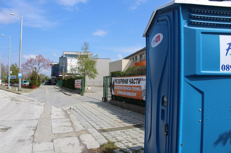 Сложиха химически тоалетни на всички крайни спирки в Пловдив
