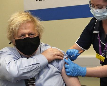 95% от британците над 50 години са получи поне една доза ваксина