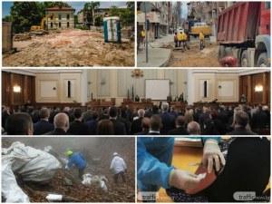 ОБЗОР: Политическата криза продължава, кметът размаха пръст на фирмите по Водния цикъл