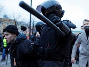1500 души са арестувани по време на протестите за Навални
