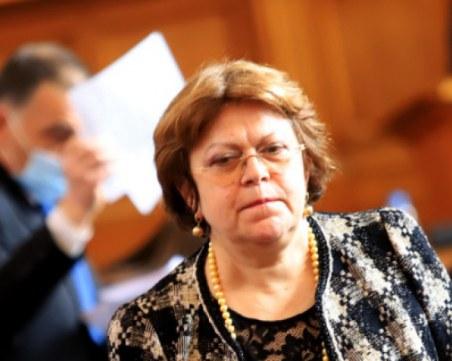 Дончева: Слави Трифонов не е показал желание да състави кабинет
