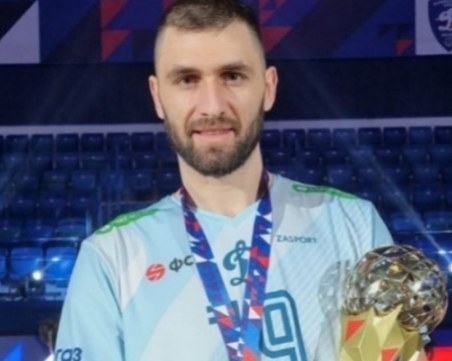 Избраха Цветан Соколов за най-добър играч на сезона в Русия